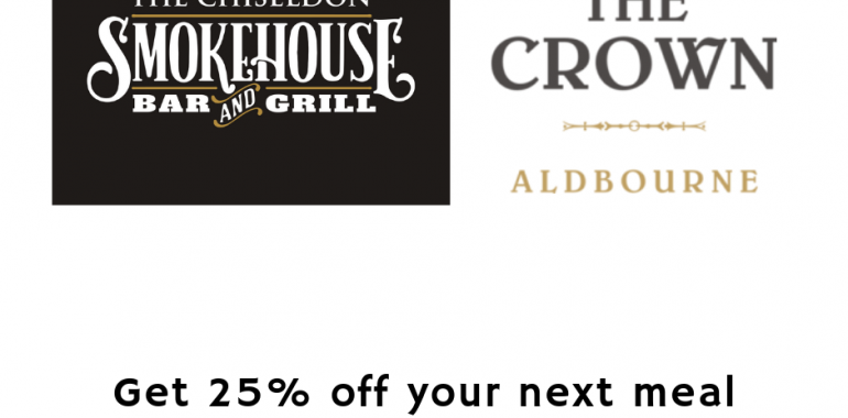 Get 25% off Your Next Meal